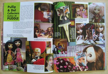 PUDDLE 2009 Coverage in Haute Doll Magazine