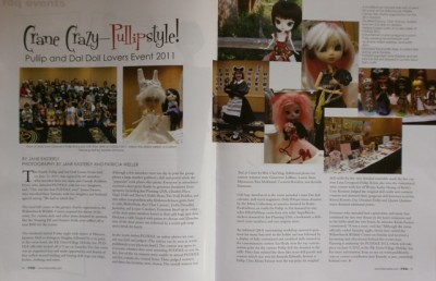 PUDDLE 2011 Coverage in Fashion Doll Quarterly